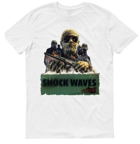 SHOCK WAVES,HORROR,1977 OLD MOVIE,100/% COTTON,SIZES S-5XL,MENS T-SHIRT G0538