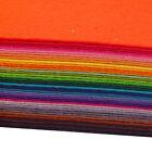 "40 Various Color Felt Sheets DIY Craft Supplie Polyester Wool Blend Fabric 6""*6"""