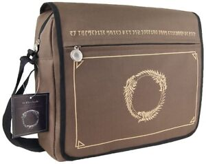 The-Elder-Scrolls-Online-Notebook-Tasche-Messenger-Bag-Stofftasche-Umhaengetasche