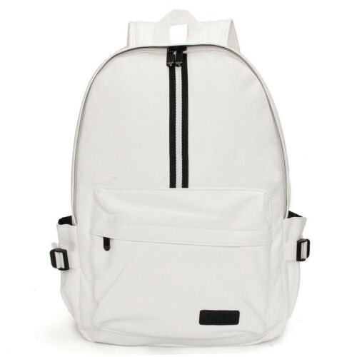 Men/'s Vogue Leather Travel Backpack Rucksack Camping School Laptop Satchel Bag