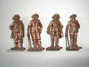 KINDER Egg Toy Ferrero Metall Soldiers Cap Joseph Copper