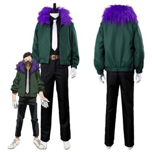 Anime My Hero Academia Kai Chisaki Cosplay Costume NN.1052