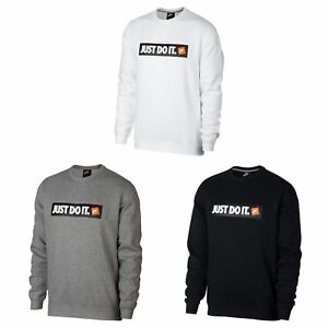 Nike-Just-Do-It-Crew-Sweatshirt-Mens-Sweater-Top-Jumper