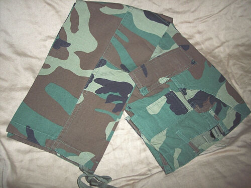 Boys Camo Pants Camo Bdu Pants Cargo Pants Hunting Pants Summer Bdus Sz 10 Pants