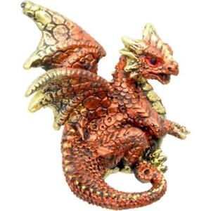 Copper-Color-Dragon-Figurine
