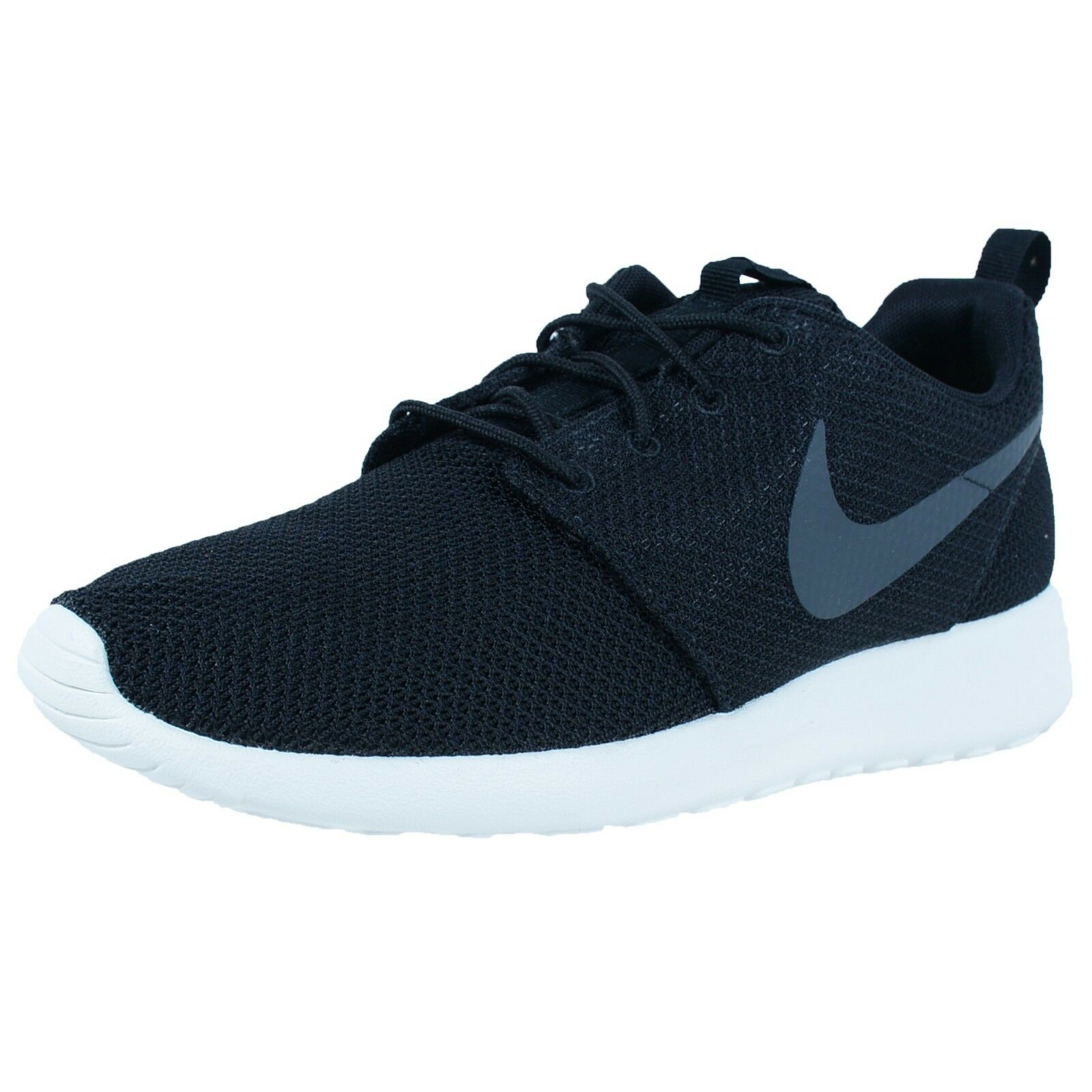NIKE ROSHE ONE CASUAL SHOES BLACK ANTHRACITE SAIL 511881 010