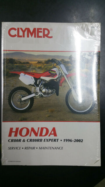 New Clymer Honda Service Manual Cr80r  U0026 Cr80rb Experpt