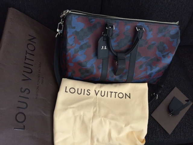Dufflebag, Louis vuitton, Limited Edition Louis Vuitton…