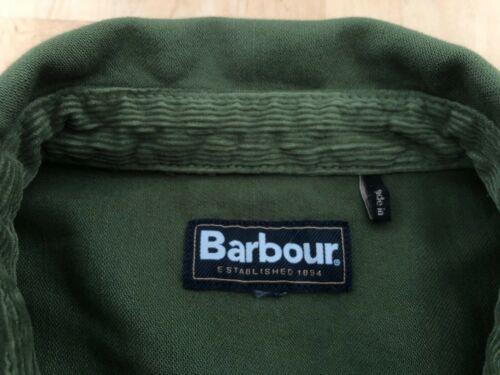 BARBOUR Seaton Overshirt- Burnt Olive
