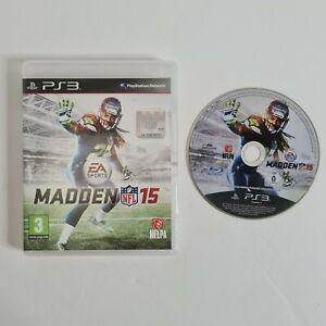 Madden NFL 15 Juego para PS 3 Sony PlayStation 3 GRATIS UK FRANQUEO
