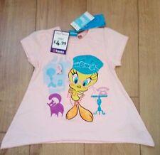 Girls New Pink Tweety Pie T-Shirt Age 6 years