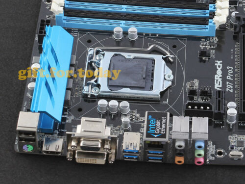ASRock Z97 PRO3 LGA 1150 Intel Z97 HDMI USB3.1 SATA DVI-D Motherboard With I//O