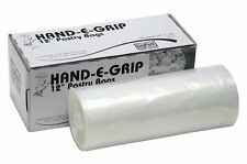 """DayMark 115435 12"""" Hand-E-Grip Disposable Pastry Bag with Dispenser (Roll of"""
