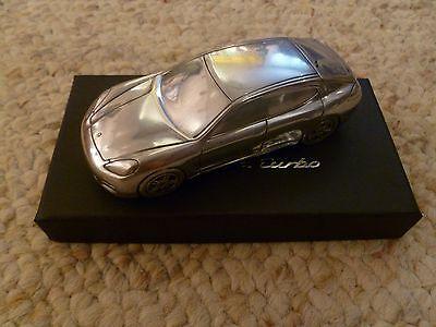 2014 Porsche Panamera Turbo Billet Aluminum 1:43rd Scale Model RARE Awesome L@@K