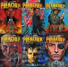 PREACHER VOL 1-6 COMPLETE TPB SET UNREAD GARTH ENNIS  DILLON VERTIGO COMICS SO