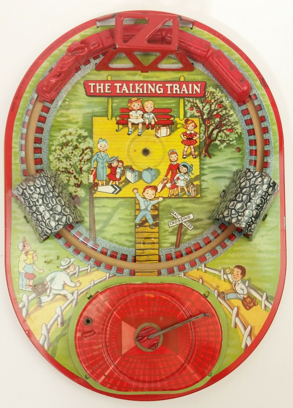 Tren mecánico que habla vintage Ideal
