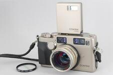 【EXC++++】CONTAX G2 Rangefinder + Planar 45mm F2 + TLA140 Flash From Japan #147