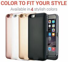 """iPhone 6 /6s/7, Display:4.7"""" External 3000mAh Battery Backup Charger Case Cover"""