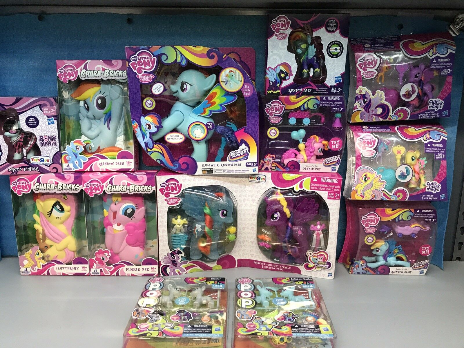 My Little Pony, Lot Of 13. TRU Exclusives & More. New