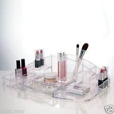 Extra Large 15 Case Acrylic Case Cosmetic Makeup Organizer Vanity Box