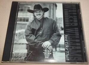 Rare-Walker-Williams-Just-Like-That-CD-1995-VGC