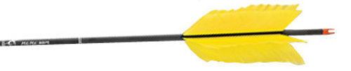 6 Pack Carbon Express Flu-Flu 6075 Arrow