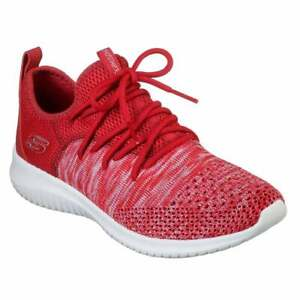 Lace Ultra Red Windsong Skechers für Damen Flex Up Trainer vwTYTq67