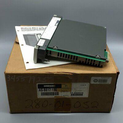 AEG MODICON 115VAC INPUT MODULE AS-B805-016 LOT OF 5 *PZF*