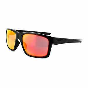 7092d966b2 Oakley Mainlink Sunglasses Matte Black With Ruby Iridium Polarized Lens. +.   99.00Brand New