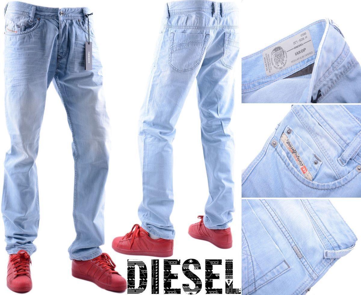 DIESEL IAKOP 0852I W29 L32 3D EVO Mens Demin Jeans Regular Slim Tapered Leg