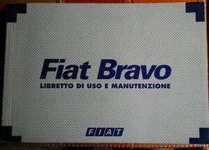 Fiat-Bravo-1995-libretto-uso-manutenzione-service-book