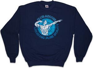 Club Pullover God Sports Gym Bodybuilder Muscles Adonis Fitness Sweatshirt ZrnRZtg