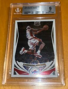 2004-05-LeBron-James-TOPPS-CHROME-23-BGS-9-w-9-5-subs-lakers-kobe-prizm