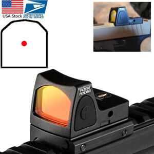 Mini-RMR-Red-Dot-Sight-Collimator-Glock-Rifle-Reflex-Scope-fit-Weaver-Mount