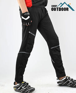 Bicycle Jogging Fleece Thermal Pants Tights Trousers