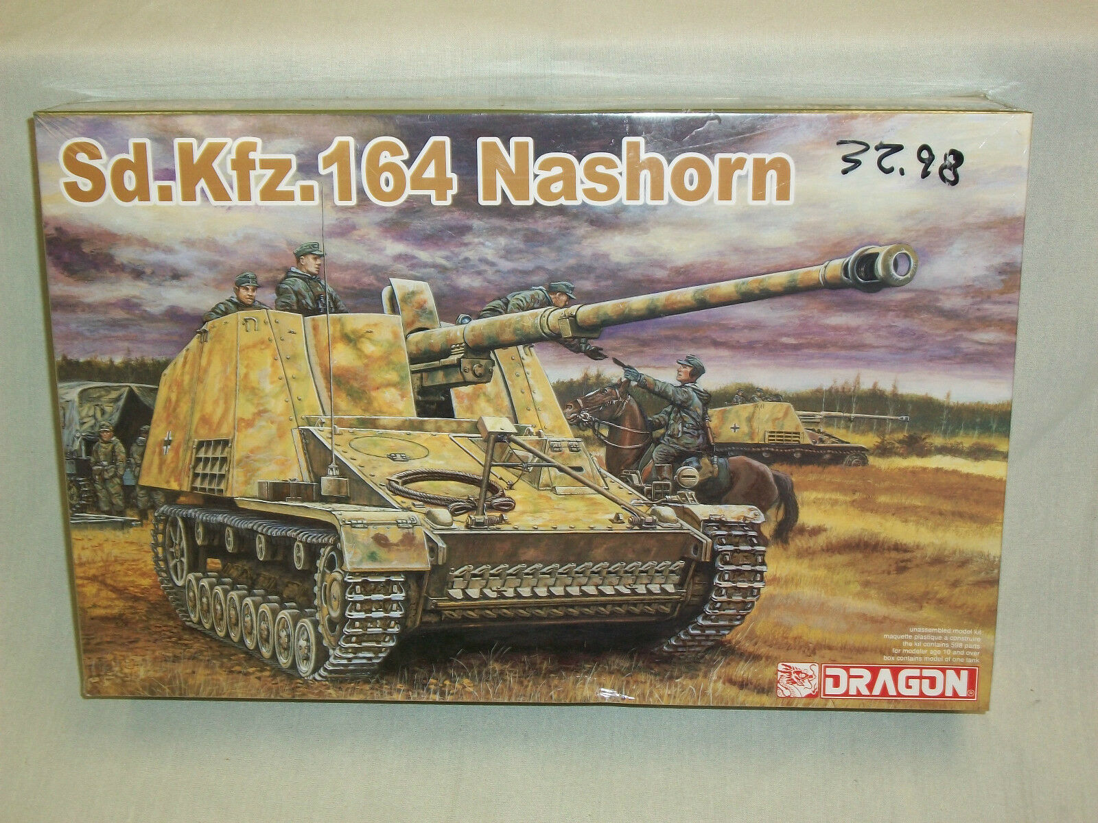 Dragon 1 35 Scale Sd.Kfz. 164 Nashorn German Tank