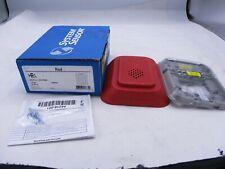 New System Sensor Hrl Red Fire Alarm Wall Horn