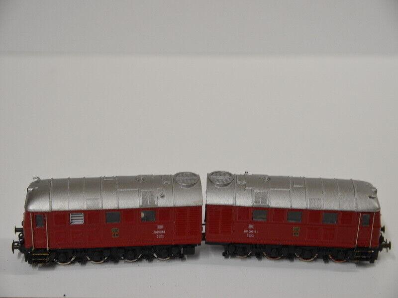 41 ) Wehrmachtslokomotive D 311 schwere Metallok Doppellok Lok BR 288 022-9 DB