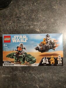 LEGO Star Wars 75228 Escape Pod vs. Dewback Microfighter NEU