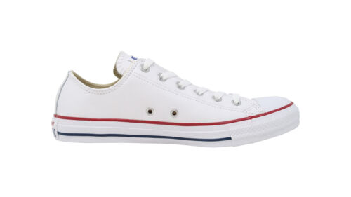 CONVERSE All Star Chuck Taylor Lo Ox White Leather Sneakers Adult Men Sneakers