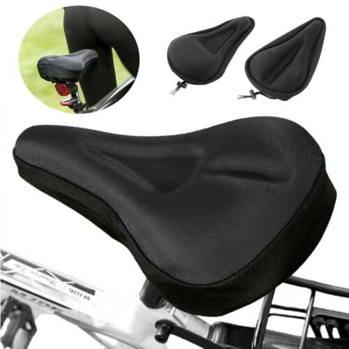 3D Cycling Bicycle Bike Seat Cover Outdoor Breathable Cushion Seat US Sponge