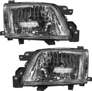 Image Is Loading New Pair Set Headlight Headlamp Embly W Bulb