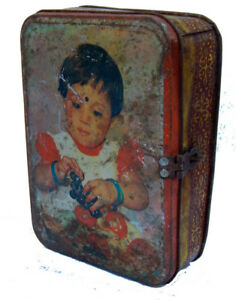 Boite-Metal-Recycle-Kitsch-Bollywood-17x13x5cm-Inde-329