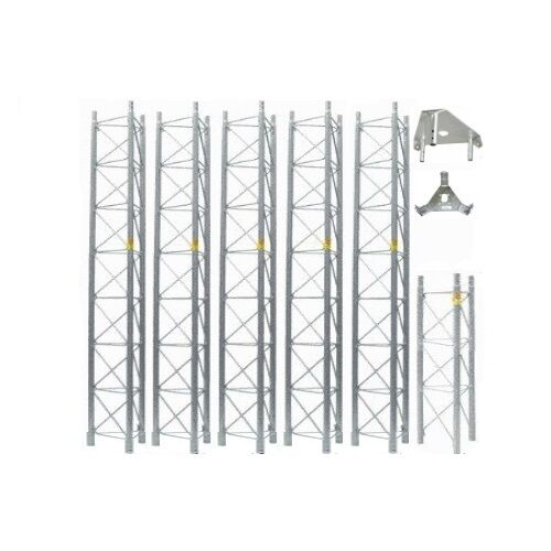 ROHN 55G Tower 50' ft Self Supporting Tower 55SS050 Freestanding ROHN 55G Tower. Buy it now for 2679.73