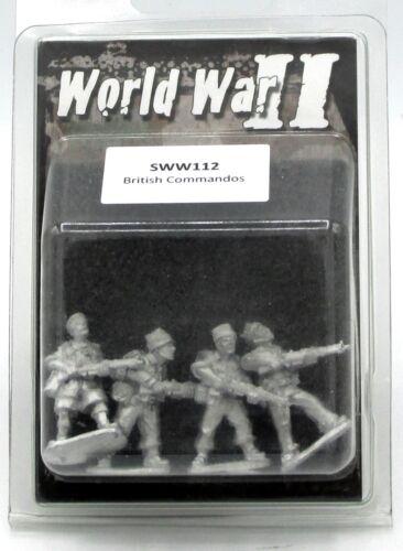 Artizan SWW112 British Commandos World War II WWII Infantry SAS Troopers NIB