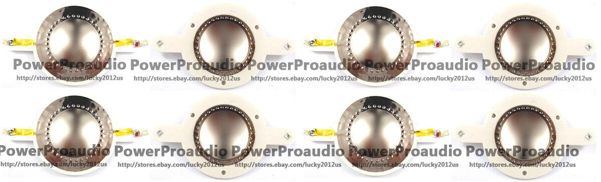 8PCS Replacement Diaphragm Fit For JBL 2418, 2418H, 2418H-1, Eon15, EON Power15