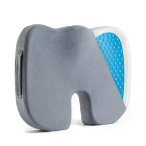 Memory-Foam-Office-Chair-Cushion-Car-Seat-Pillow-Coccyx-Orthopedic-Pain-Relief