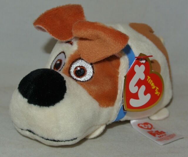 Ty Beanie Babies 42192 Teeny TYS Secret Life of Pets Max The Dog for ... 1f225fba0919