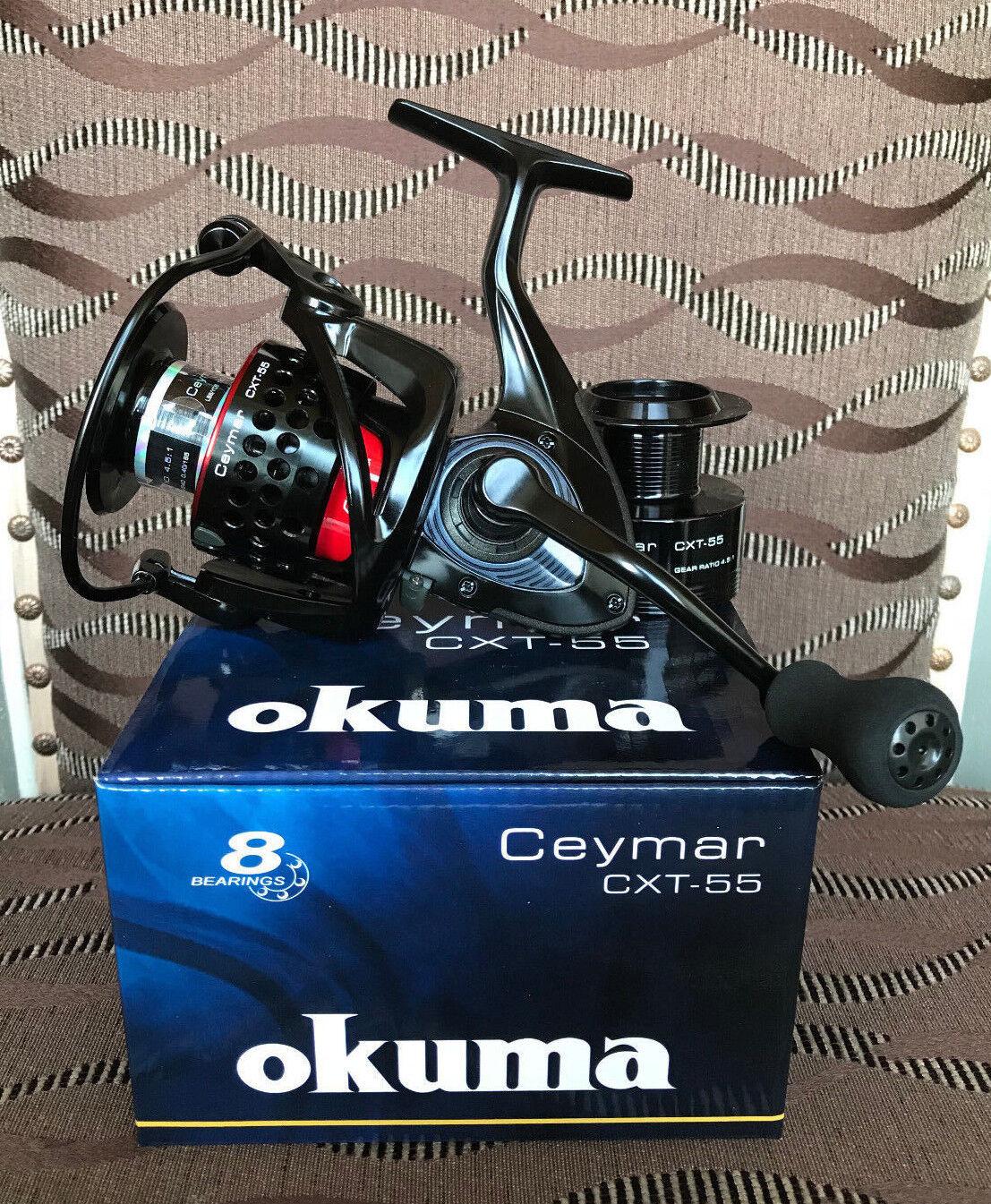 Okuma Okuma Okuma ceymar XT cxt-55 FD spinnrolle ff3634