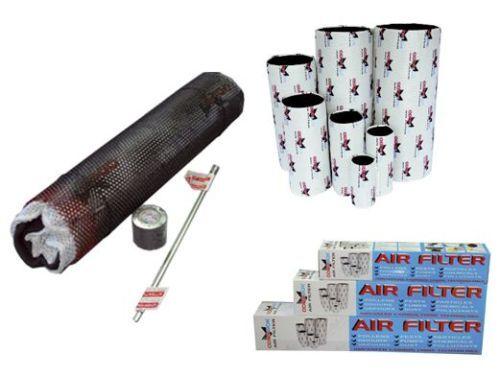 ODOR SOK odorsok FILTRO carboni attivi CARBON AIR FILTER  200X500mm 1000 mc h g